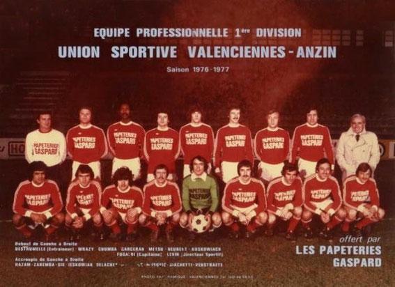 VALENCIENNES 76/77