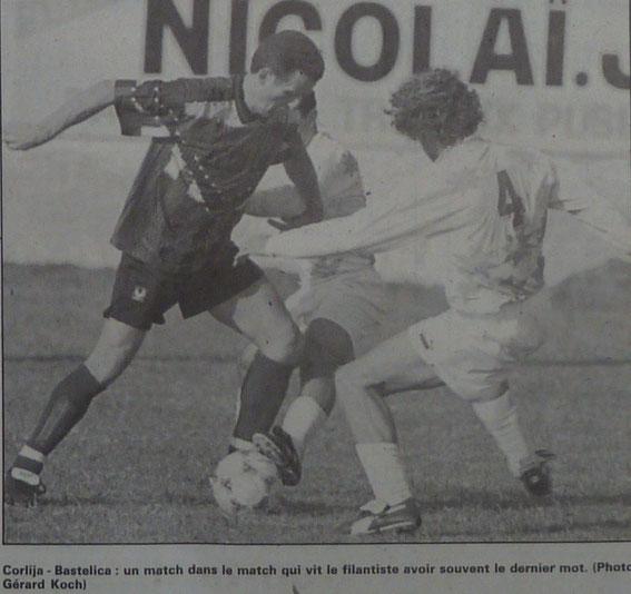 Corlija (CABGL) face à Alain Bastelica (EFB)