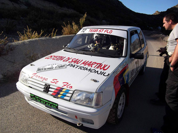 Premier Rallye au volant pour Jean Paul au Nebbiu 2014 avec Marielle Péril