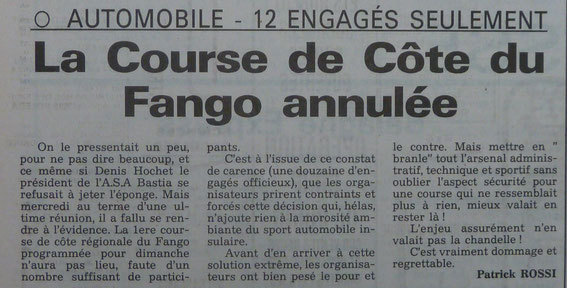 La Corse Le Provençal