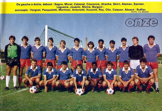 BEZIERS 84-85