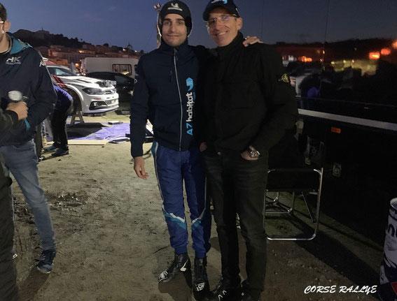 Jean Mathieu avec papa que l'on ne présente plus au dernier BALAGNE .