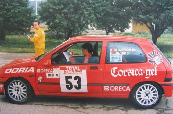Tour de Corse 98 avec Julien Anziani