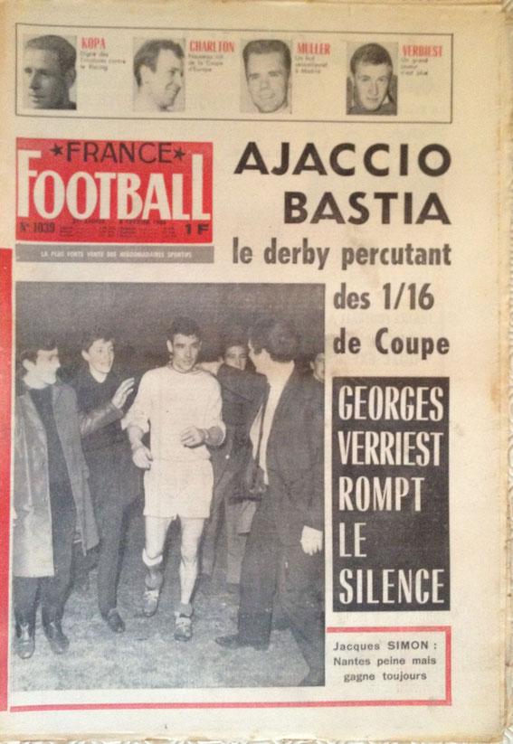 Le duel fratricide fait la une de France Football