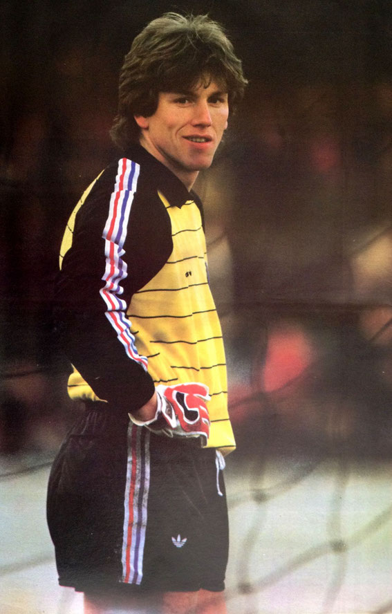Pascal OLMETA sous le maillot de l'équipe de FRANCE Espoir