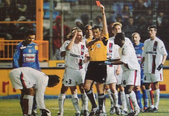 L'expulsion de Ronaldinho