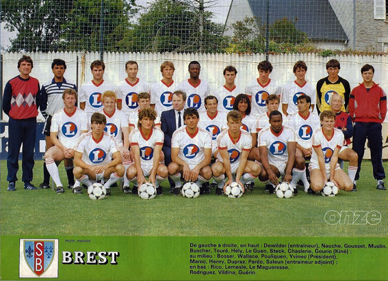 BREST 84-85