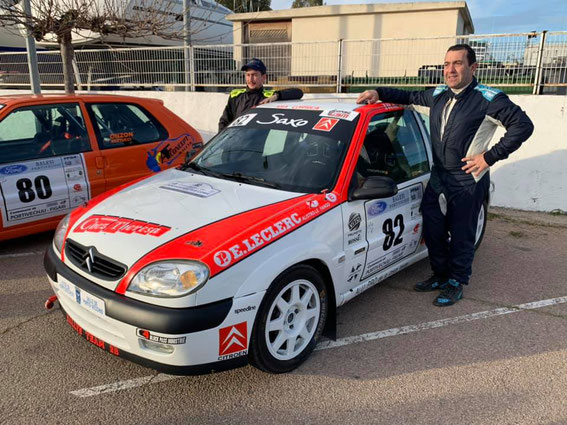 Le Porti Vechju 2020 avec Xavier Nanni qui lui aussi change de baquet au gré des courses .