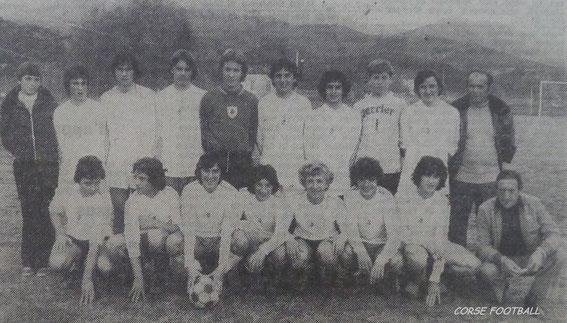 Avec la sélection des cadets de Haute Corse (Le dernier debout à droite) .