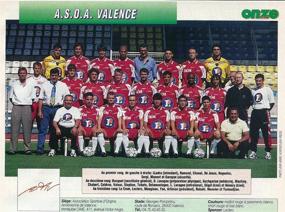 VALENCE 97/98