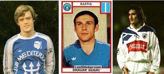 Un sacré trio qui a fait les beaux jours du Sporting en L1 (Rep-Dzajic-Drobnjak)
