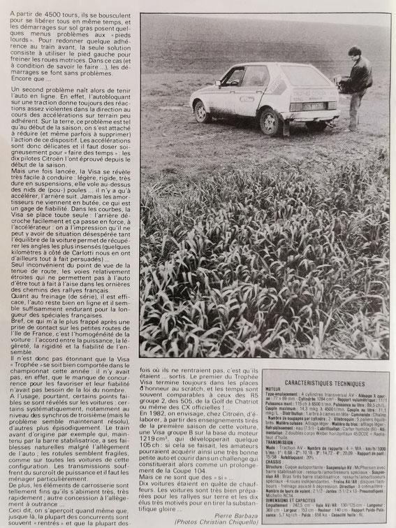 Echappement 1981