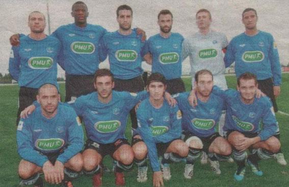Coupe de France face au Gallia