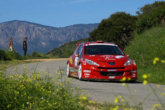 """Tour de Corse 2012 avec le """"Macagno' """" Etienne Patrone ( 7 èmes)"""