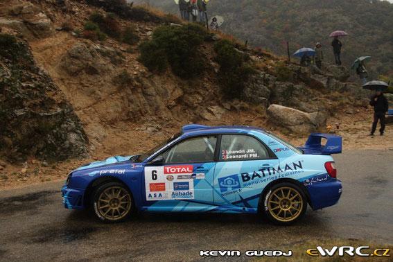 CEVENNES 2011 avec la Subaru