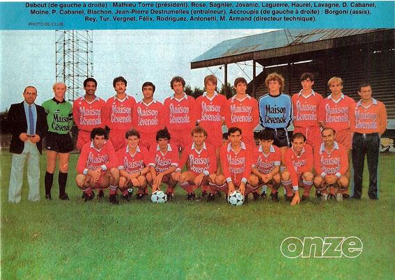 BEZIERS 83-84
