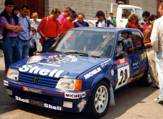 Tour de Corse 90 avec Marie Latieule