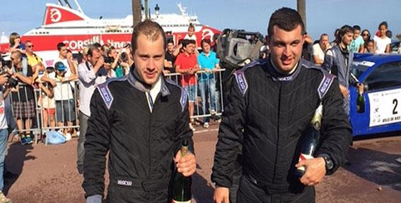 L'Equipage vainqueur (Photo Corse Net Infos)
