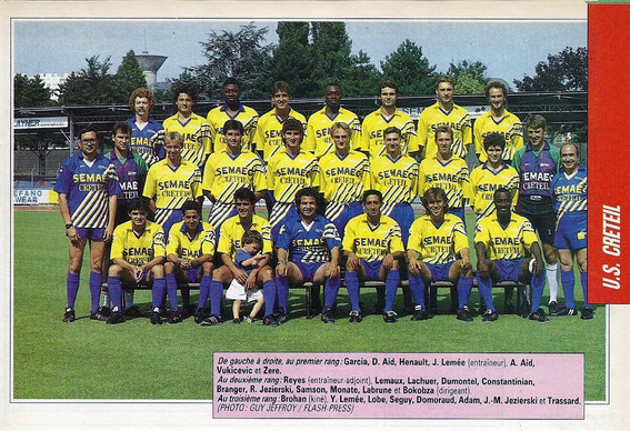 CRETEIL 92-93