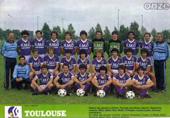 TOULOUSE 82/83