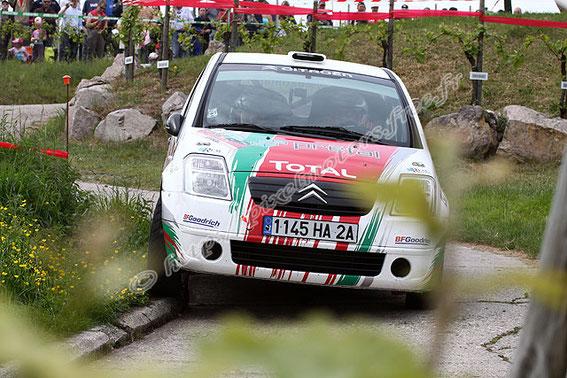 Rallye des VOSGES 2009 avec Nicolas Gilsoul l'actuel co pilote de Thierry Neuville