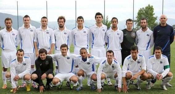 Des bons joueurs il y en a certes en DH  comme en témoigne cette sélection Corse qui a participé à la Coupe des régions .