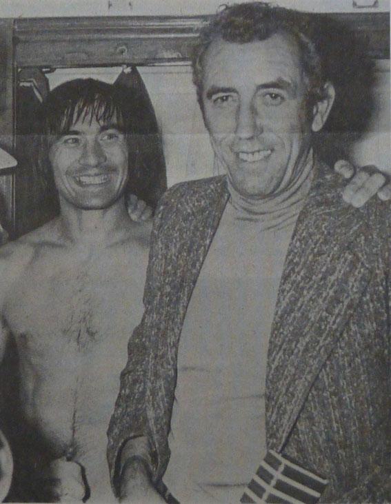 Fanfan FELIX et Pierre CAHUZAC