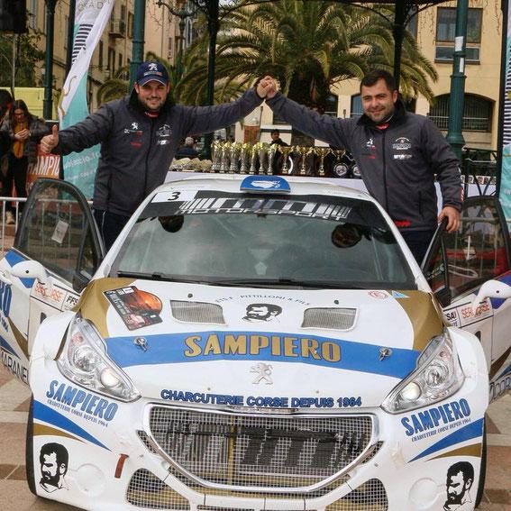 Victoire au Paese Aiaccinu 2018 avec Paul Antoine Santoni