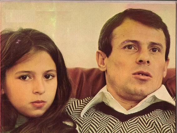 Ilja PANTELIC en compagnie de sa fille