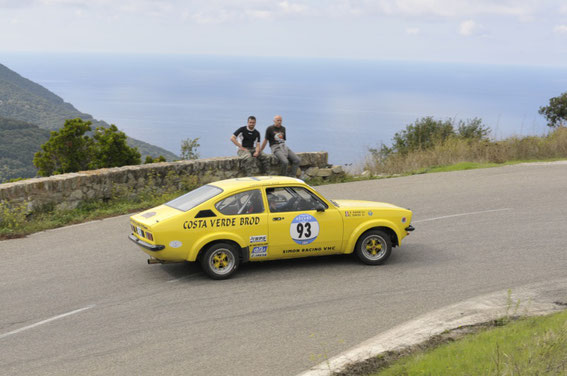 2013 Avec Edmond SIMON au Tour de Corse Historique