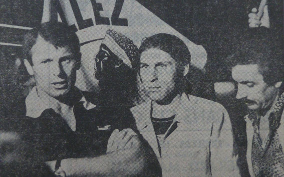 Pantélic, Dzajic et Jules Filippi .