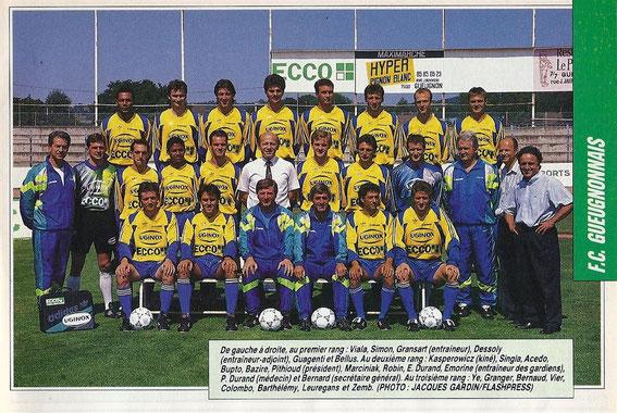 GUEUGNON 91-92