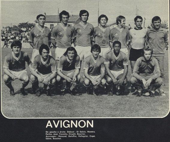 Avignon 72/73