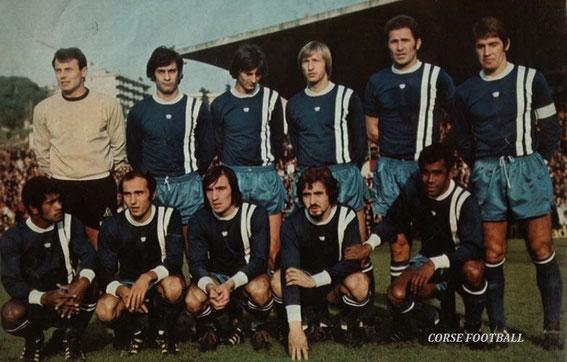L'Equipe qui a joué à Nice
