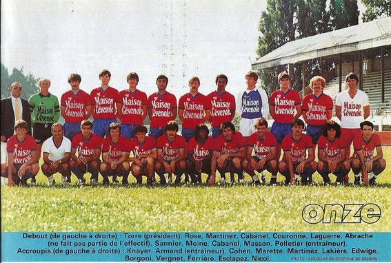 BEZIERS 82-83