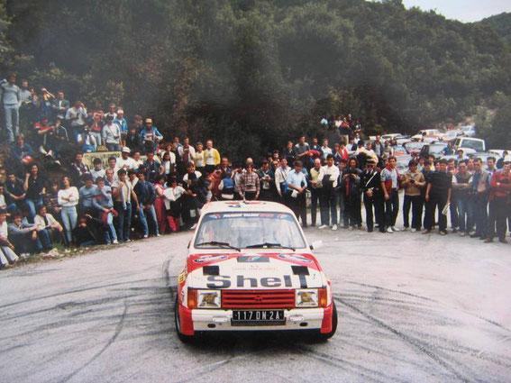Tour de Corse 84 avec Nonce Leca