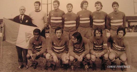 Debout: Jojo Petrignani-Pantélic-Savkovic-Mosa-Tosi-Franceschetti-Calmettes. Accroupis: Kanyan-Buigues-Félix-Dogliani-Giordani