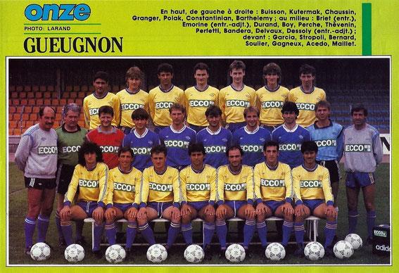 GUEUGNON 87/88