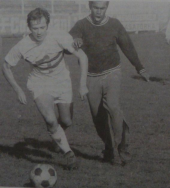Robert Buigues et Marco Kanyan à l'entrainement (Corse Matin)