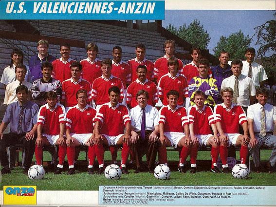 VALENCIENNES 92-93