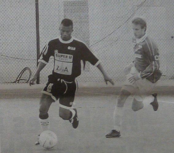 Bakouma face à JF.Rossi .