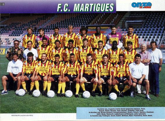 MARTIGUES 94-95