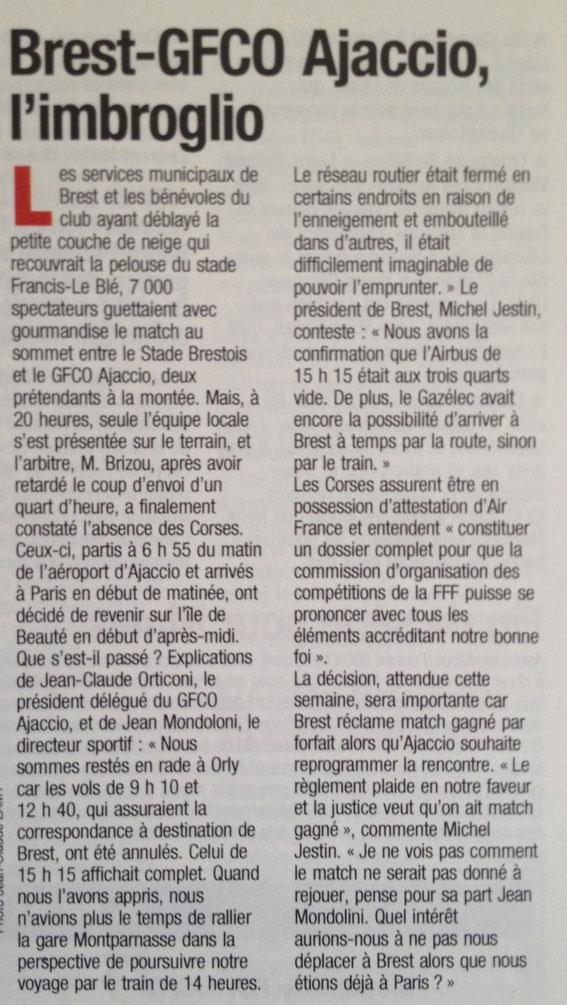 Après la 25e j (France Football)
