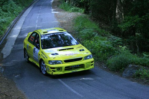 2 èmes de Classe avec la Subaru à la Giraglia 2012