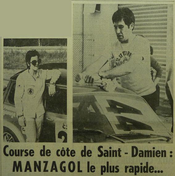 Gisèle FERRANDI et Jean Pierre MANZAGOL