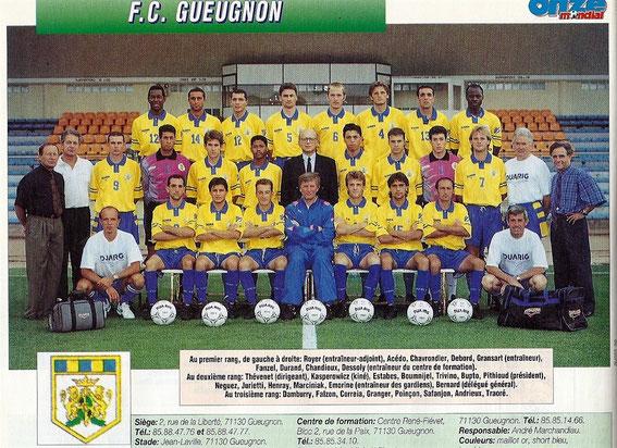 GUEUGNON 94/95