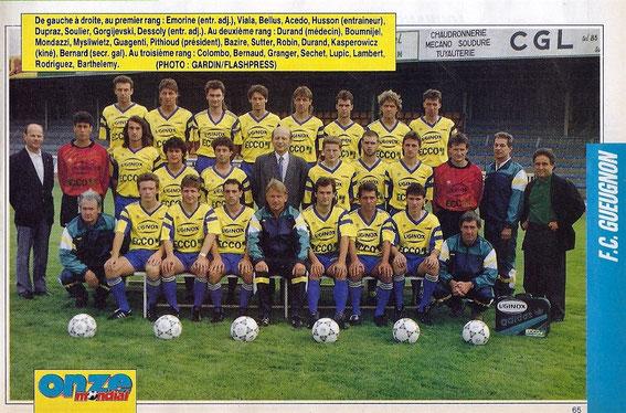 GUEUGNON 90-91