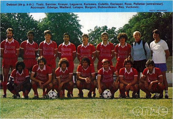 BEZIERS 81-82