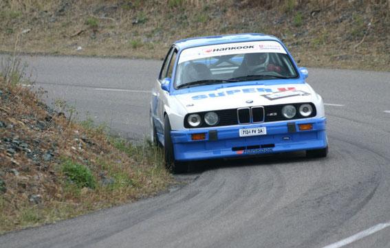 Une belle 3 ème place à BIGUGLIA en 2006 avec Dédé PAPINI (Rallye Corse)