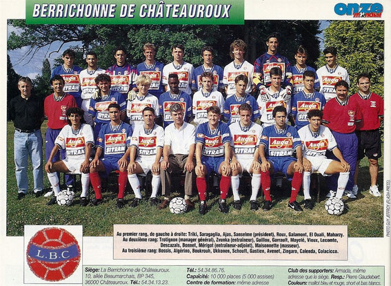 CHATEAUROUX 94-95
